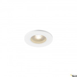SLV 1001016 KAMUELA ECO LED Fire-rated Recessed ceiling luminaire, white, 3000K, 38°, dimmable, IP65