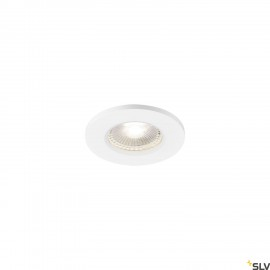 SLV 1001018 KAMUELA ECO LED Fire-rated Recessed ceiling luminaire, white, 4000K, 38°, dimmable, IP65