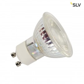 SLV 1001030 LED QPAR51 GU10 Bulb, 38°, 2700K, 400 lm, dimmable
