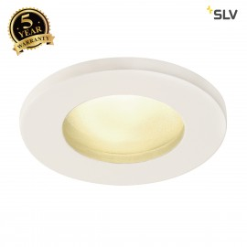 SLV 1001157 DOLIX OUT QR-C51, round, white