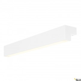 SLV 1001299 L-LINE 60 LED, wall and ceiling light, IP44, 3000K, 700lm, white