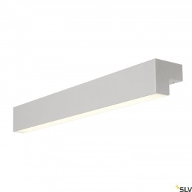 SLV 1001300 L-LINE 60 LED, wall and ceiling light, IP44, 3000K, 700lm, silver grey