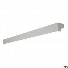 SLV 1001304 L-LINE 120 LED, wall and ceiling light, IP44, 3000K, 3000lm, silver