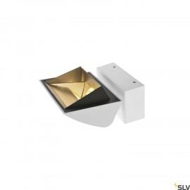 SLV 1001468 MERADO FLOOD WL, LED Indoor surface-mounted wall light, white, 3000K, 40°