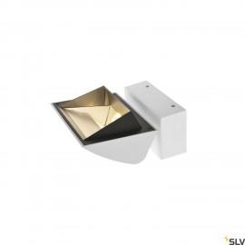 SLV 1001472 MERADO FLOOD WL, LED Indoor surface-mounted wall light, white, 4000K, 40°