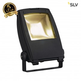 SLV 1001643 LED FLOOD LIGHT, matt black, 30W, 3000K, 100°, IP65