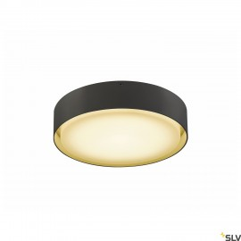 SLV 1001856 LIPA CL, LED Outdoor surface-mounted ceiling light, IP54, anthracite, 3000/4000K