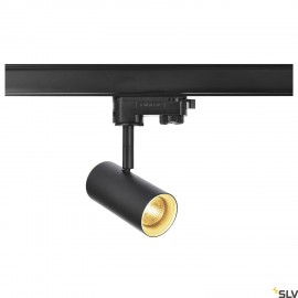 SLV 1001865 NOBLO SPOT, black, 2700K, 36°, incl. 3-circuit adapter