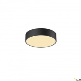 SLV 1001877 MEDO 30 CW, CORONA, LED Outdoor surface-mounted wall and ceiling light, TRIAC, black, 3000/4000K