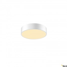 SLV 1001881 MEDO 30 CW, CORONA, LED Outdoor surface-mounted wall and ceiling light, TRIAC, white, 3000/4000K