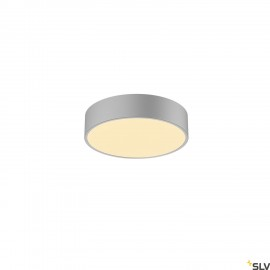 SLV 1001882 MEDO 30 CW, CORONA, LED Outdoor surface-mounted wall and ceiling light, TRIAC, silver-grey 3000/4000K