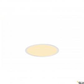 SLV 1001905 MEDO 30 EL, LED indoor recessed ceiling light, frame version, white, 3000/4000K