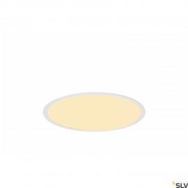 SLV 1001906 MEDO 40 EL, LED indoor recessed ceiling light, frame version, white, 3000/4000K