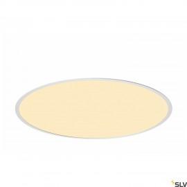 SLV 1001907 MEDO 60 EL, LED indoor recessed ceiling light, frame version, white, 3000/4000K