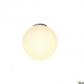SLV 1002051 ROTOBALL 25 CL, Indoor surface-mounted ceiling light, E27, white, max. 24W