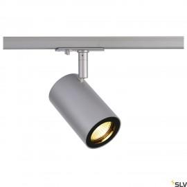 SLV ENOLA_B TRACK SPOT, QPAR51 silver-grey 50W, incl. 1-circuit adapter 1002113