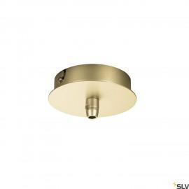 SLV 1002163 FITU single canopy, soft gold