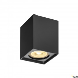 SLV 1002216 ALTRA DICE CL, Indoor surface-mounted wall and ceiling light, QPAR51, black