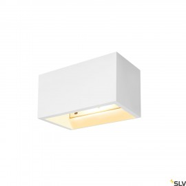 SLV PLASTRA QT-DE12 WL White Wall light 1002238