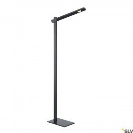 SLV MECANICA PLUS FL, indoor LED floor stand, 2700-6500K, black 1002405