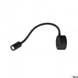 SLV 1002431 DIO FLEX PLATE LED, LED Indoor surface-mounted wall light, black, 3000K