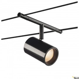 SLV TENSEO NOBLO, cable luminaire for low voltage cable system 2700K black 1002694