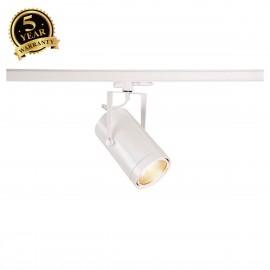 SLV EURO SPOT White 3-Circuit LED Track Light DALI Dimable 3000K 38° 1002814