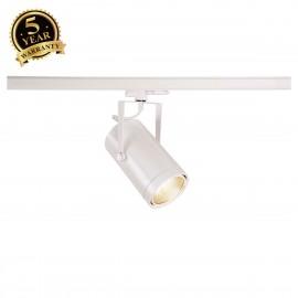 SLV EURO SPOT White 3-Circuit LED Track Light DALI Dimable 4000K 38° 1002816
