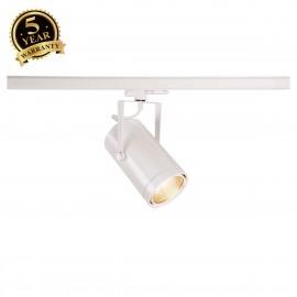 SLV EURO SPOT White 3-Circuit LED Track Light DALI Dimable 3000K 60° 1002818