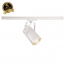 SLV EURO SPOT White 3-Circuit LED Track Light DALI Dimable 4000K 60° 1002820