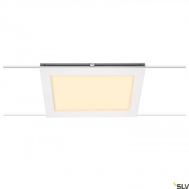 SLV PLYTTA rectangular cable luminaire for the TENSEO low voltage cable system 2700K white 1002865