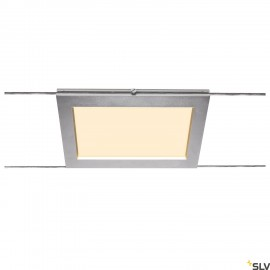 SLV PLYTTA rectangular cable luminaire for the TENSEO low voltage cable system 2700K chrome 1002866
