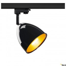 SLV PARA CONE 14 QPAR51 3-circuit Track Light black/gold 1002876