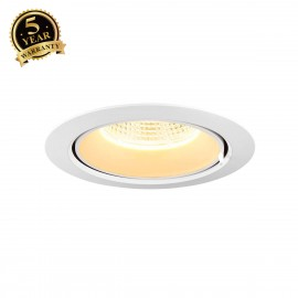 SLV SUPROS 150 Move LED recessed ceiling light white 3000K 1002888