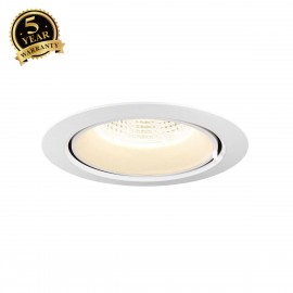 SLV SUPROS 150 Move LED recessed ceiling light white 4000K 1002889