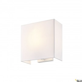 SLV ACCANTO SQUARE E27 wall light white 1002943