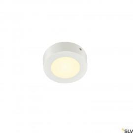 SLV SENSER 12 LED Round ceiling light white 3000K 1003014
