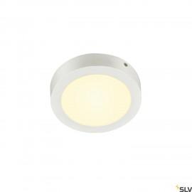 SLV SENSER 18 LED Round ceiling light white 3000K 1003015