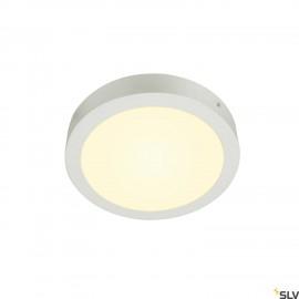 SLV SENSER 24 LED Round ceiling light white 3000K 1003016