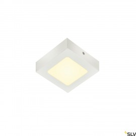 SLV SENSER 12 LED Square ceiling light white 3000K 1003017