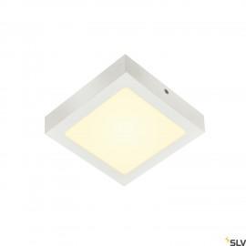 SLV SENSER 18 LED Square ceiling light white 3000K 1003018