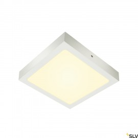 SLV SENSER 24 LED Square ceiling light white 3000K 1003019