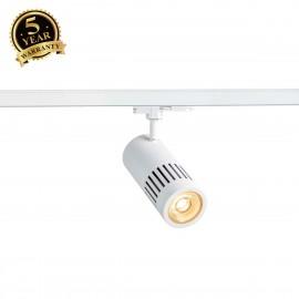 SLV STRUCTEC DALI Dimmable 3-circuit Track Light white 3000K 36° 1003025
