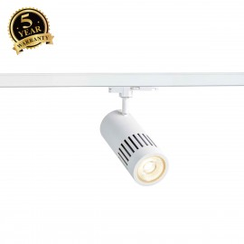 SLV STRUCTEC DALI Dimmable 3-circuit Track Light white 4000K 36° 1003027