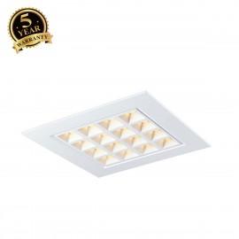 SLV PAVANO 600x600 LED recessed ceiling light white 3000K 1003076