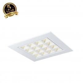 SLV PAVANO 600x600 LED recessed ceiling light white 4000K 1003077