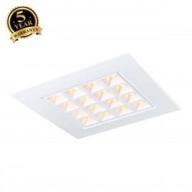 SLV PAVANO 620x620 LED recessed ceiling light white 3000K 1003078