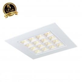 SLV PAVANO 620x620 LED recessed ceiling light white 4000K 1003079