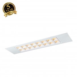 SLV PAVANO 300x1200 LED recessed ceiling light white 3000K 1003080