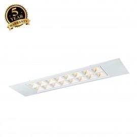 SLV PAVANO 300x1200 LED recessed ceiling light white 4000K 1003081